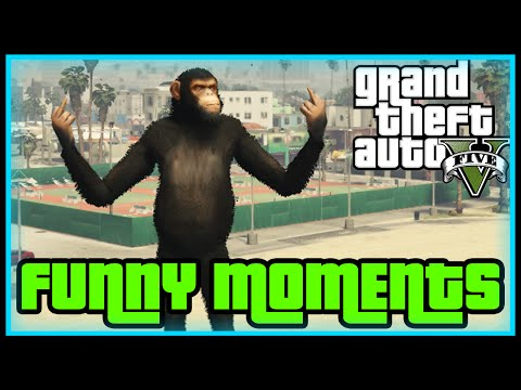GTA 5 PÅ SVENSKA - APAN HAR SEX!! (Funny Moments)