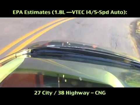 LaFontaine Honda - 2012 Honda Civic Natural Gas CNG Review - Dearborn, MI