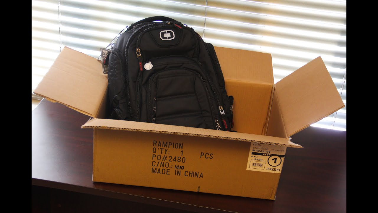 Ogio Renegade RSS Backpack Unboxing - YouTube