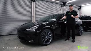 World's First Customized Tesla Model 3: Project 3X Walkthrough