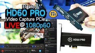 Review Elgato HD60 Pro รีวิว Live สดจากกล้องและสตรีมเกม 1080p60 แบบเสถียรๆ ต่อติดทุกครั้ง