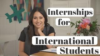 How to Get an Internship as an International Student! | The Intern Queen