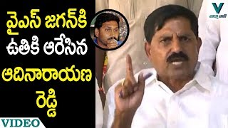 Minister Adinarayana Reddy Fires on YS Jagan - Vaartha Vaani