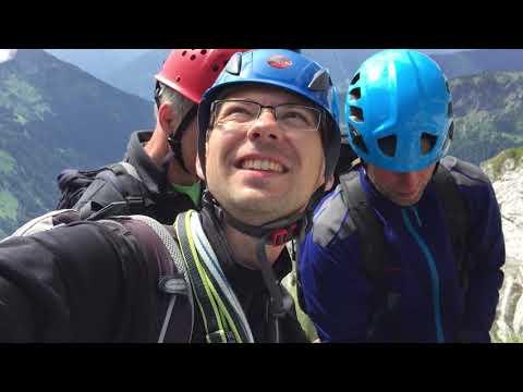 Alpinklettern am Gimpel