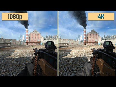 Call of Duty: Modern Warfare 1080p vs. 4K 2160p Graphics (Beta)