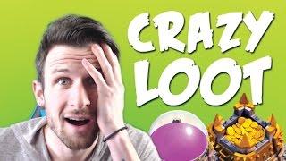 Crazy Loot Raids Ep  #3  Clash of Clans   Gold, Elixir, And Dark Elixir!