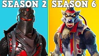 ranking every season 6 battle pass skin from worst to best fortnite battle royale - fortnite battle royale classement
