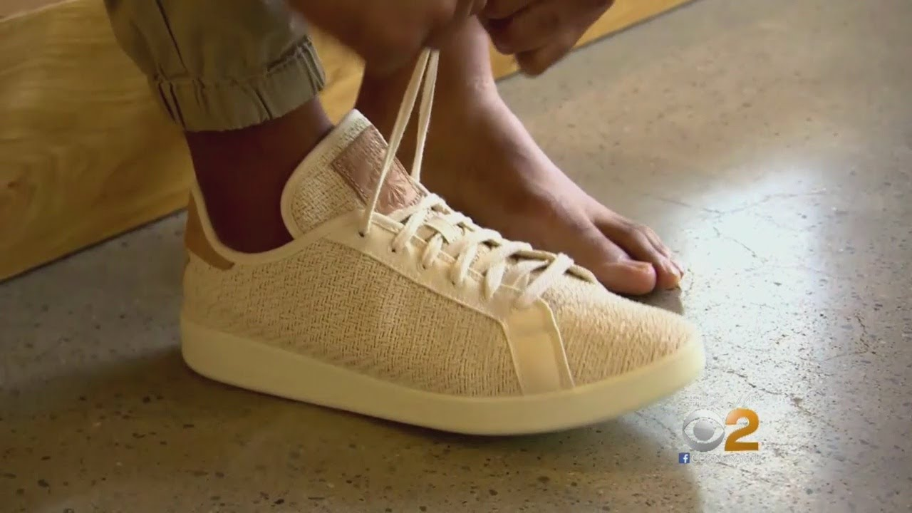 1a110063c84 Reebok Making Shoe Entirely From Cotton And... Corn  - YouTube
