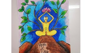 yoga drawing easy international competition
