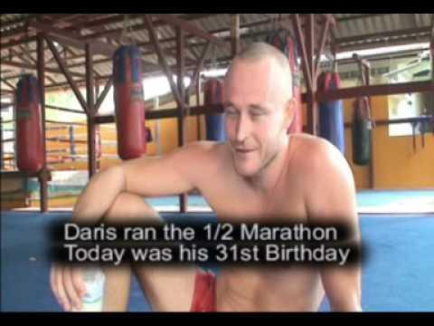 Running a Marathon @ Phuket Thailand -   February 2008