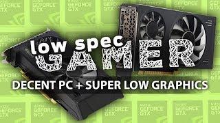 Decent PC + Super low graphics = 100+ FPS?