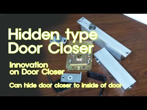 50 Hidden Type Door Closer Youtube