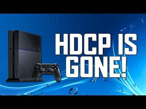 How To Turn off HDCP on PS4 | Update 1.70! |
