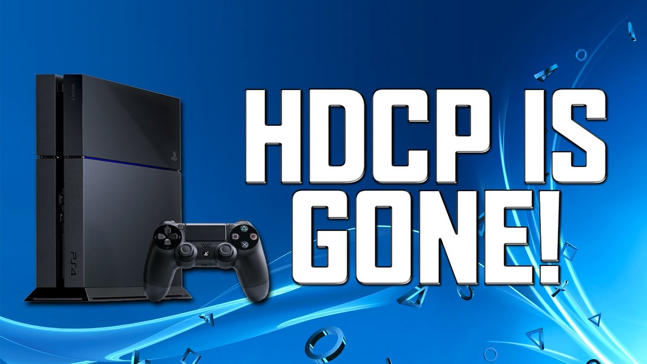 How To Turn off HDCP on PS4 | Update 1 70! |