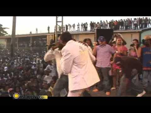 VYBZ KARTEL MAVADO SHARE THE SAME STAGE @ WEST KINGSTON JAMBOREE 2009