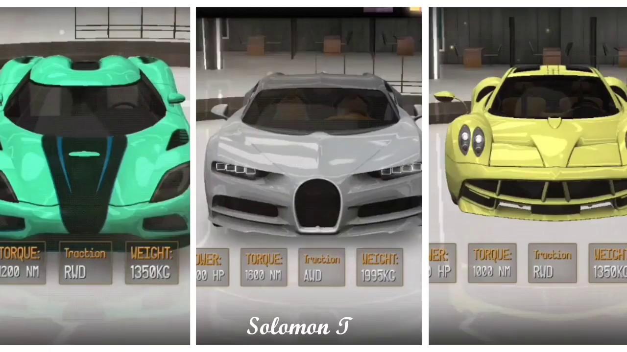 Driving School 2017 DRAG RACE - Bugatti Chiron vs Koenigsegg Agera vs Pagani Huayra - YouTube
