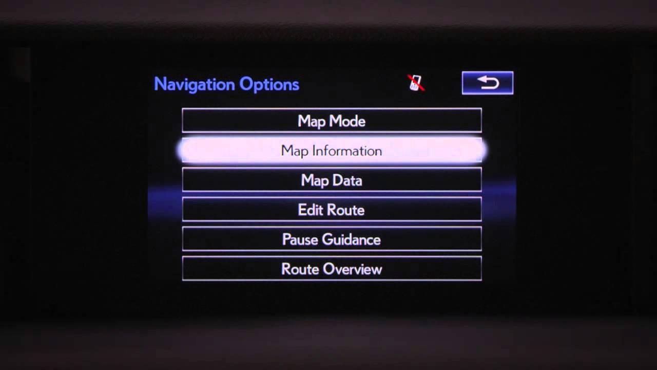 navigation quick tips overview youtube rh youtube com RX 350 www Luexus 460 Car