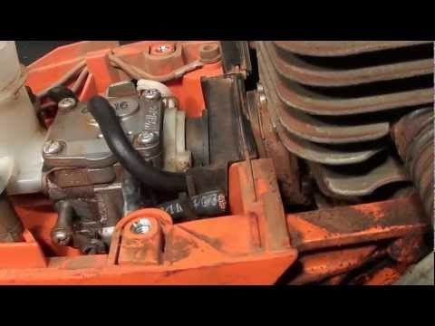 how to fix or increase compression in a chain saw