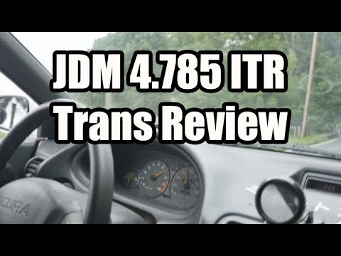 JDM 4 785 Integra Type R Transmission In-Car Review