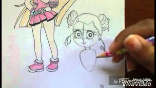 How to Draw Bubbles From Powerpuff Girls Z