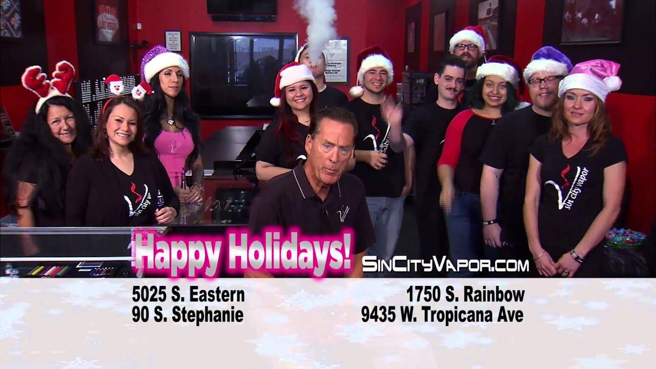 Sin City Vapor Happy Holidays 2015 HD