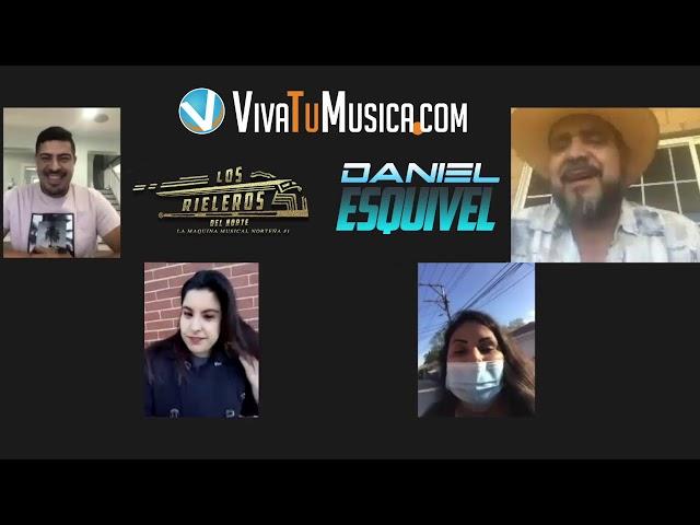 Viva y Sus Artista con Daniel Esquivel de Los Rieleros del Norte!