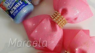 Como fazer fita com glitter – Super fácil e barato