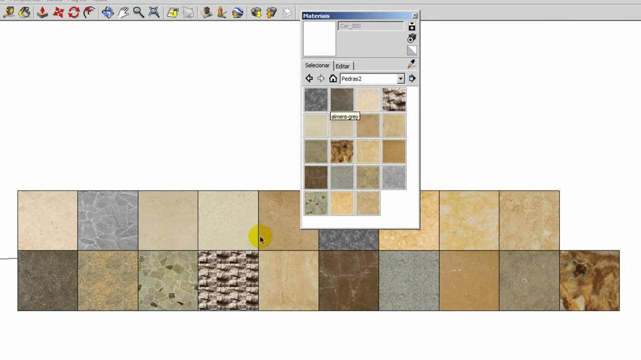Como salvar materiais no sketchup youtube for Azulejos para sketchup 8