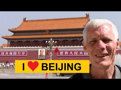 BEIJING! Tiananmen Square, Forbidden City, Beijing Metro, modern architecture and food!
