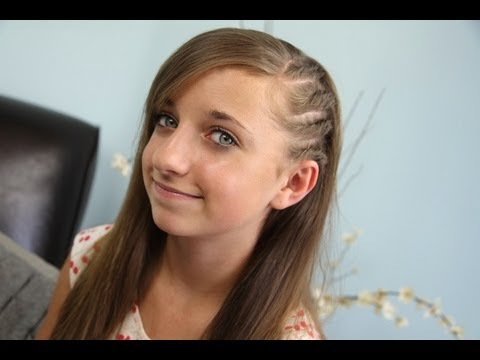 Side Flat Twists | Back-to-School | Cute Girls Hairstyles