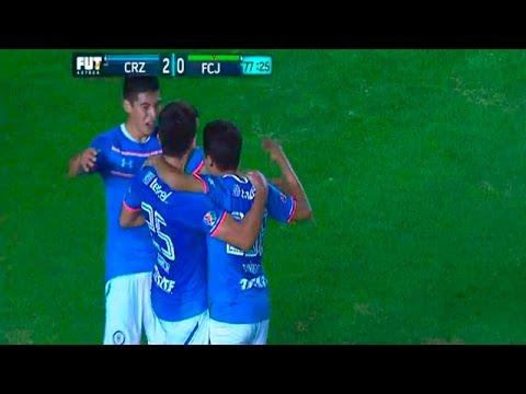 Gol de Víctor Zuñiga - Cruz Azul vs Juarez FC 2-0 Cuartos de FINAL Copa MX 2016