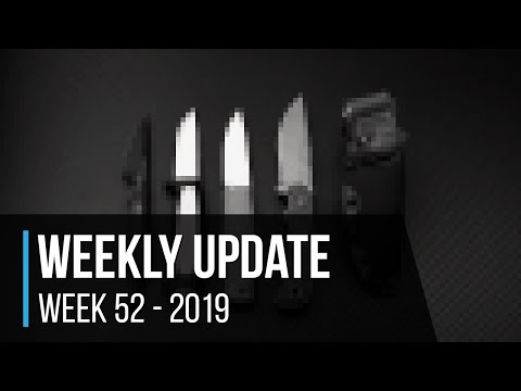 Weekly Update 52 - 2019: Top 10 Fixed Blade Knives Of The Year