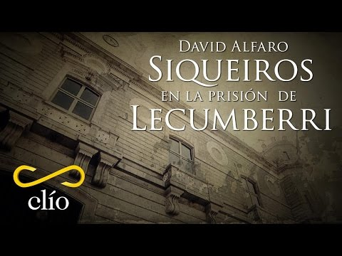 David Alfaro Siqueiros en la prisión de Lecumberri