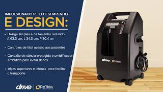 Portuguese Discover the 525 Concentrator by Drive DeVilbiss Healthcare -
