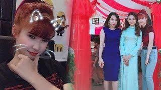 Trung thành với mái tóc đỏ Khởi My nổi trội nhất đám cưới cô dâu đứng cạnh suýt bị lu mờ