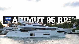 Azimut Grande 95 RPH | Leaving Yachts Miami Beach