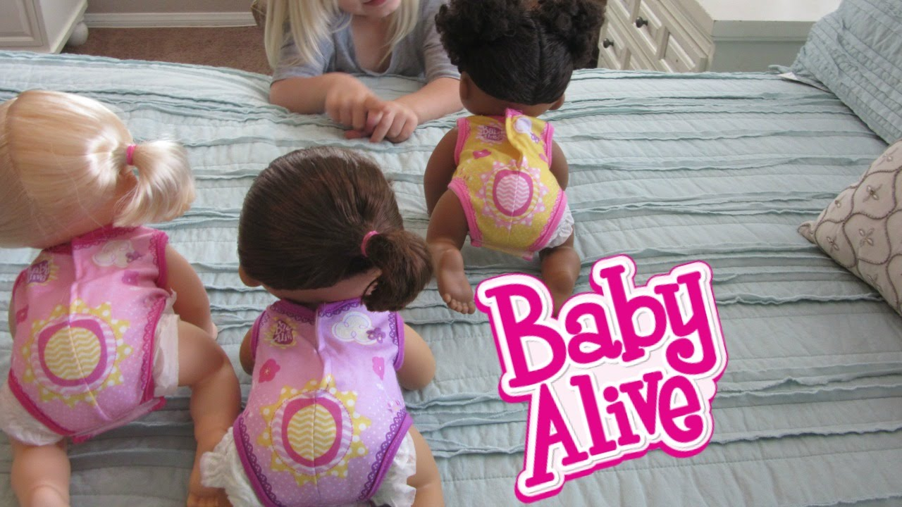 Baby Alive Go Bye Bye Doll Name Reveal And Shout Outs