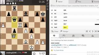 Chess online: Super opponent want replay again