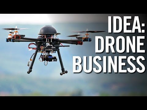 4 DRONE BUSINESS IDEAS FOR 2018! 💰 Make Money With Drones