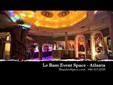 Le Bam Event Space - Atlanta's Most Whimsical Wedding Venue