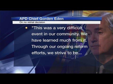 APD Chief Eden Responds To No Retrial Decision For Former Officers