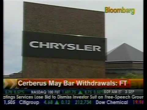 Cerberus May Bar Withdrawals - FT - Bloomberg