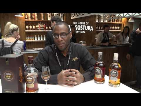 Review Angostura rum 1787 by Master Distiller John Georges @ bar convent Berlin.