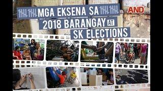 #Halalan2018: Mga eksena sa 2018 Barangay at SK Elections