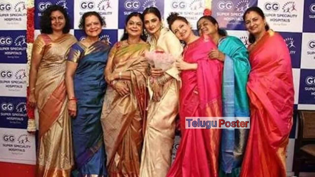 Gemini Ganesan Daughter Against Mahanati: Savithri Ganesan Daughters Photos