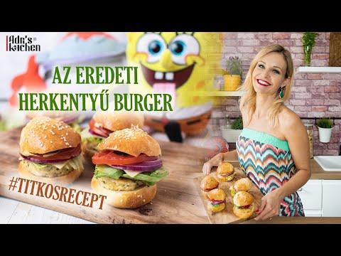 Adri's Kitchen: Herkentyű Burger - Spongyabob