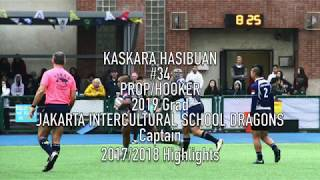Kaskara Hasibuan 2017/2018 Rugby Highlights