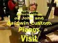 Baldwin Artist John Ripley playing the Flame Baldwin Piano for Piano Trends