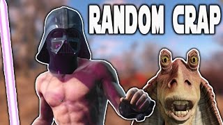 Star Wars In Fallout 4! Fallout 4 Mods - Random Crap Friday!