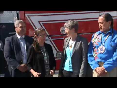 Interior Secretary visits Spokane Tribe